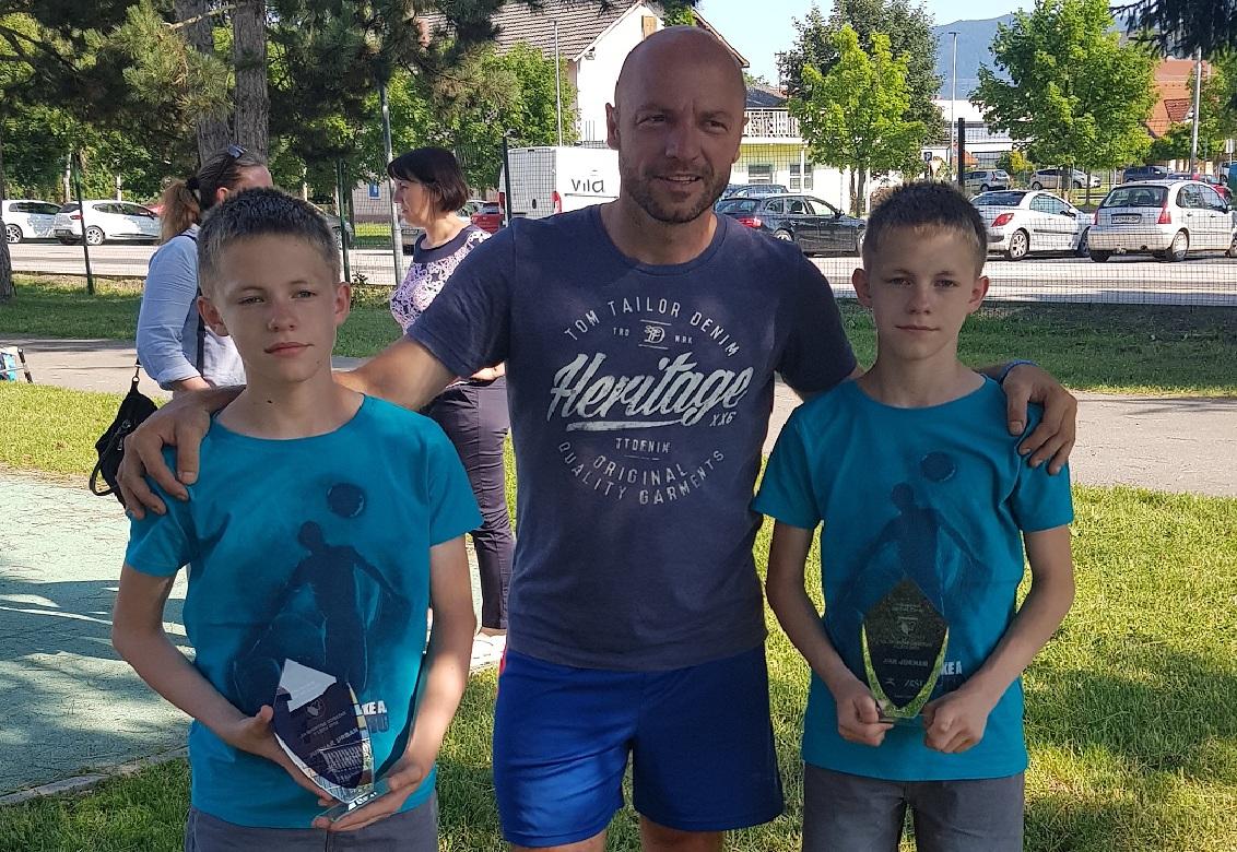 Jan in Urban prejela športno priznanje Občine Žalec