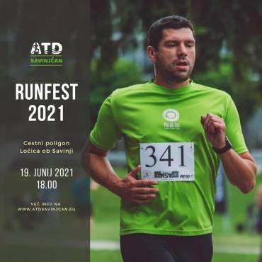 RUNFEST SAVINJSKA DOLINA 2021
